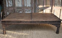 Antique Thakat Day Bed Table, Shekawati, Rajasthan <b>SOLD<b>
